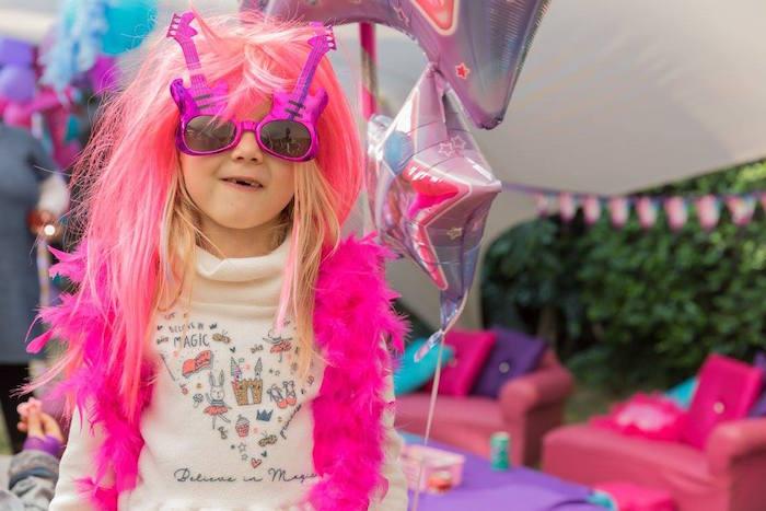 Rock Star Birthday Party on Kara's Party Ideas | KarasPartyIdeas.com (5)