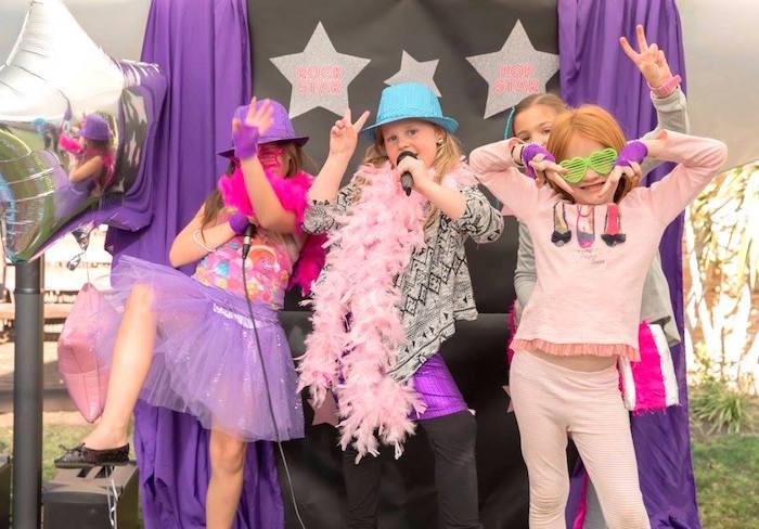 Rock Star Birthday Party on Kara's Party Ideas | KarasPartyIdeas.com (4)
