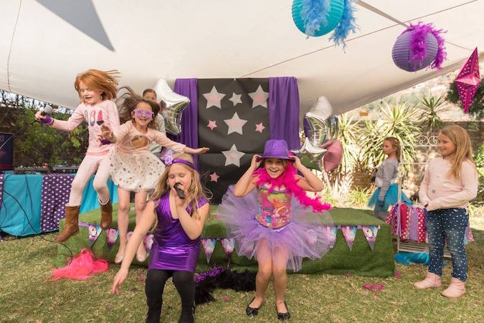 Rock Star Birthday Party on Kara's Party Ideas | KarasPartyIdeas.com (3)