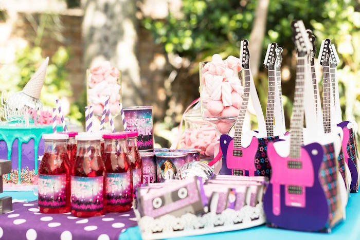 Rock Star Party Favors from a Rock Star Birthday Party on Kara's Party Ideas | KarasPartyIdeas.com (20)