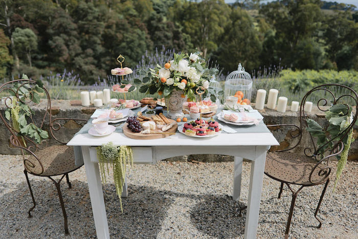 Romantic French Inspired Wedding Dining Table on Kara's Party Ideas | KarasPartyIdeas.com (22)