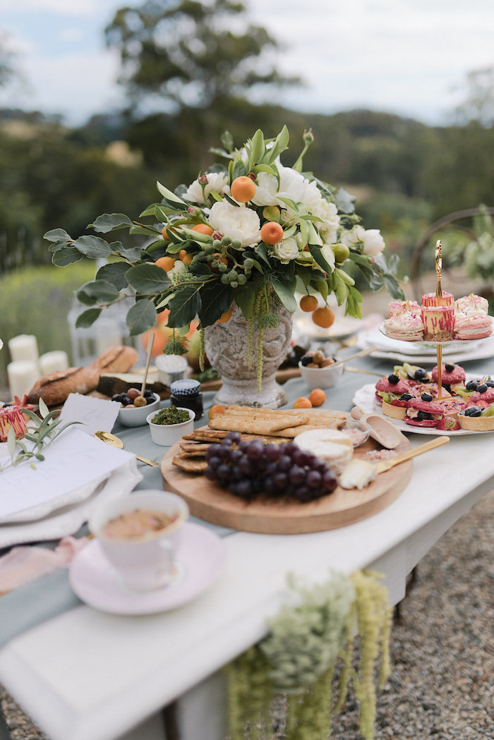 Romantic French Inspired Wedding Dining Table on Kara's Party Ideas | KarasPartyIdeas.com (18)