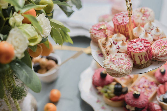 Desserts from a Romantic French Inspired Wedding on Kara's Party Ideas | KarasPartyIdeas.com (17)