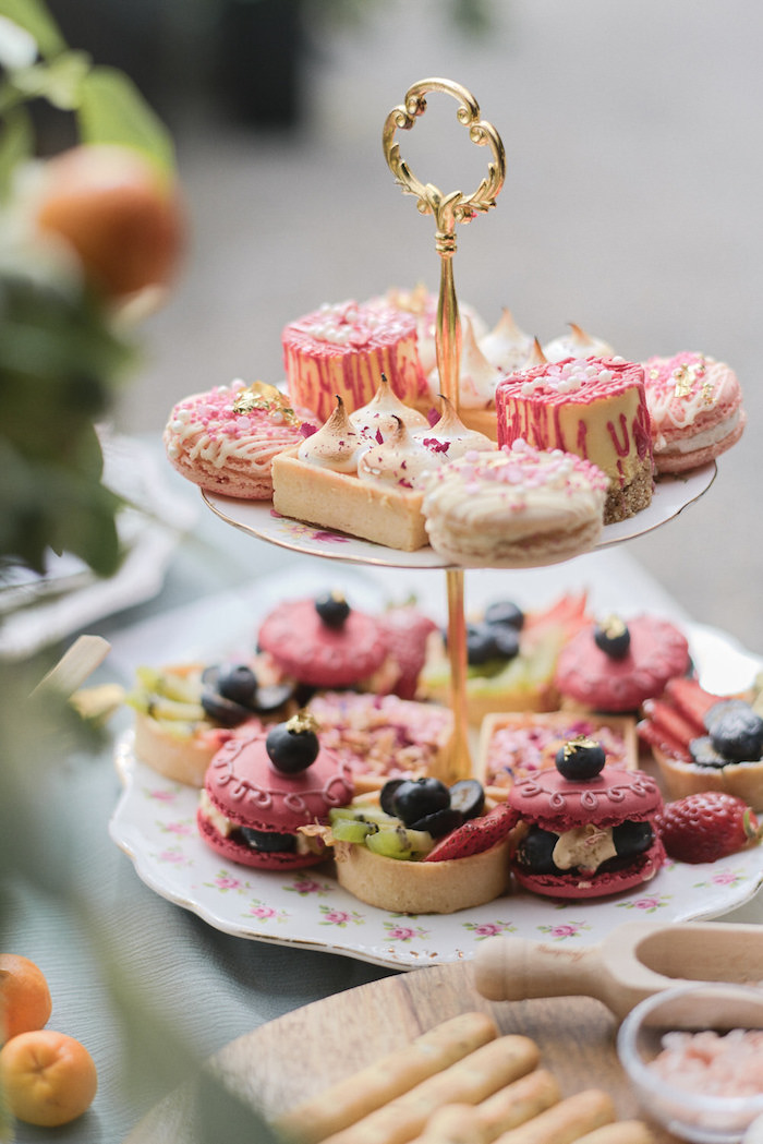 Pastries + Desserts from a Romantic French Inspired Wedding on Kara's Party Ideas | KarasPartyIdeas.com (13)