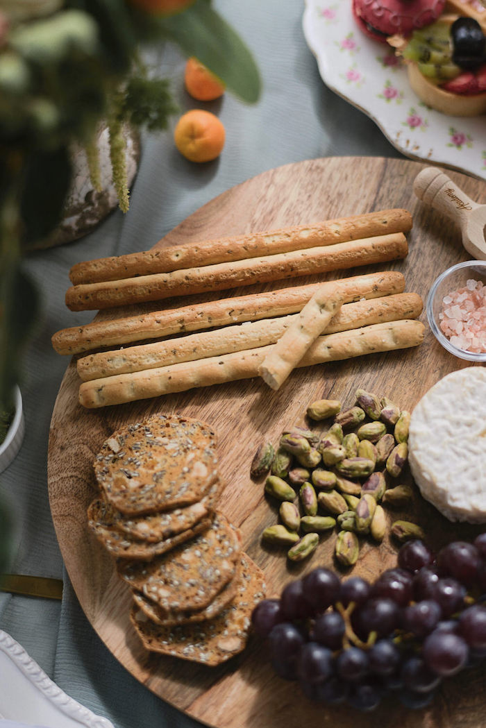 Nut Board from a Romantic French Inspired Wedding on Kara's Party Ideas | KarasPartyIdeas.com (10)