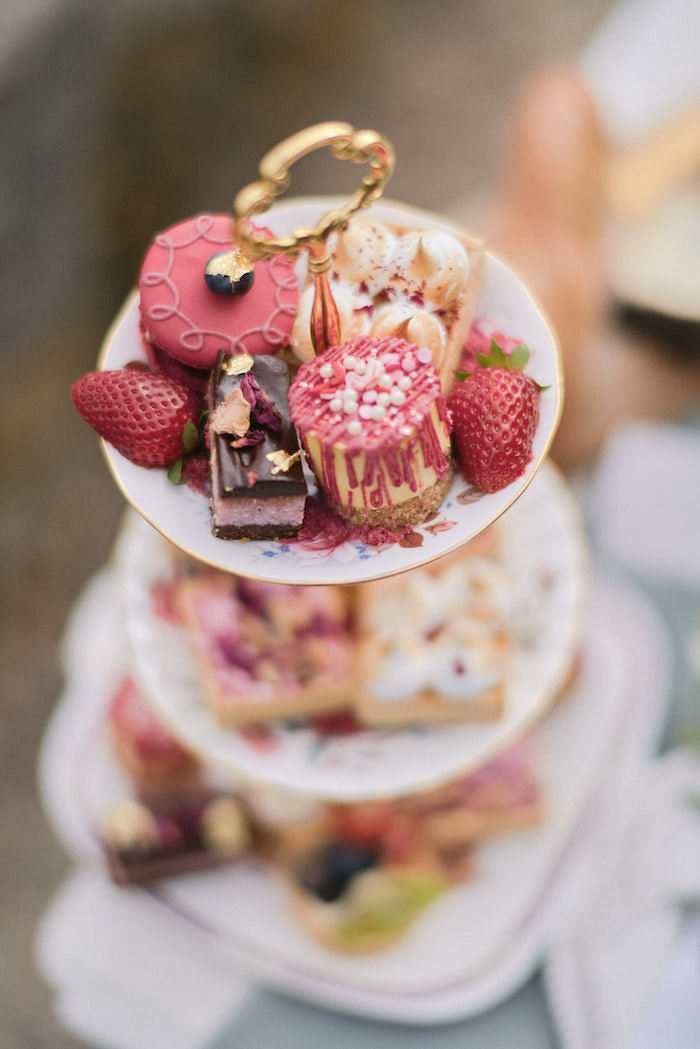 Desserts from a Romantic French Inspired Wedding on Kara's Party Ideas | KarasPartyIdeas.com (5)