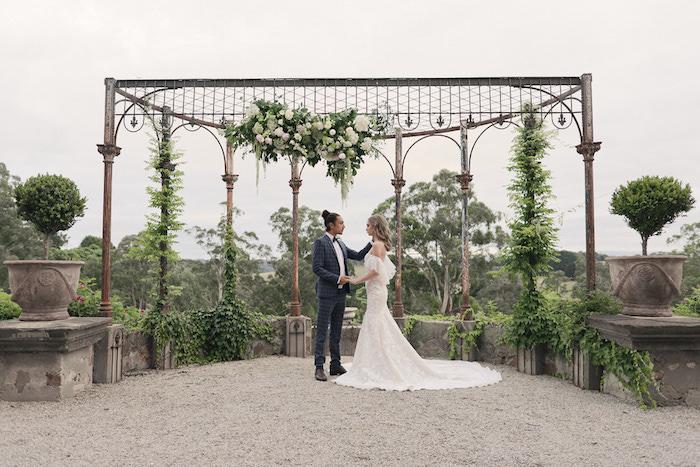 Romantic French Inspired Wedding on Kara's Party Ideas | KarasPartyIdeas.com (28)