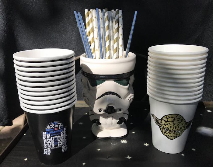 Star Wars Cups from a Star Wars Birthday Party on Kara's Party Ideas | KarasPartyIdeas.com (13)