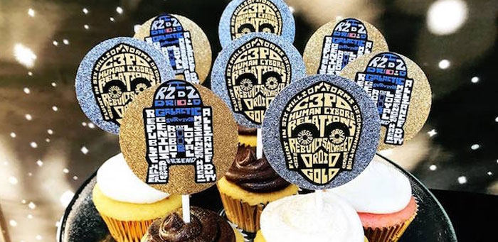 Star Wars Birthday Party on Kara's Party Ideas | KarasPartyIdeas.com (2)