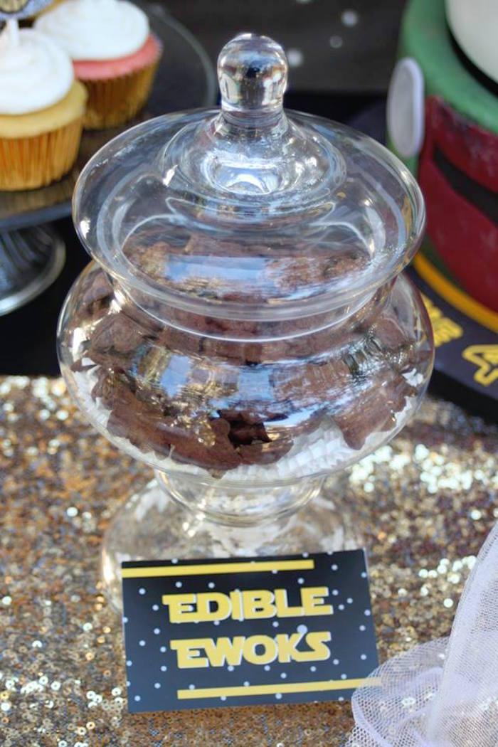 Edible Ewoks from a Star Wars Birthday Party on Kara's Party Ideas | KarasPartyIdeas.com (21)