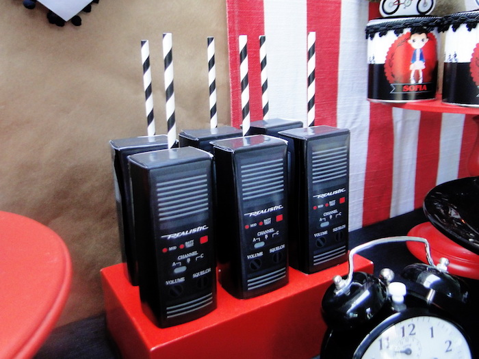 Walkie Talkie Favor Boxes from a Stranger Things Inspired Birthday Party on Kara's Party Ideas | KarasPartyIdeas.com (16)
