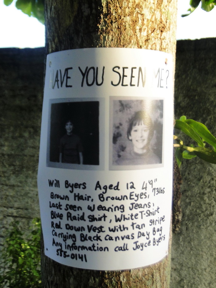 Missing Child Poster from a Stranger Things Inspired Birthday Party on Kara's Party Ideas | KarasPartyIdeas.com (8)