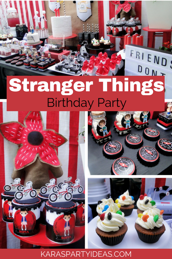Kara\u0027s Party Ideas Stranger Things Inspired Birthday Party
