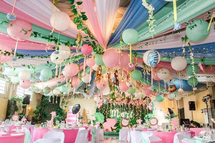 Tropical Safari Birthday Party on Kara's Party Ideas | KarasPartyIdeas.com (16)