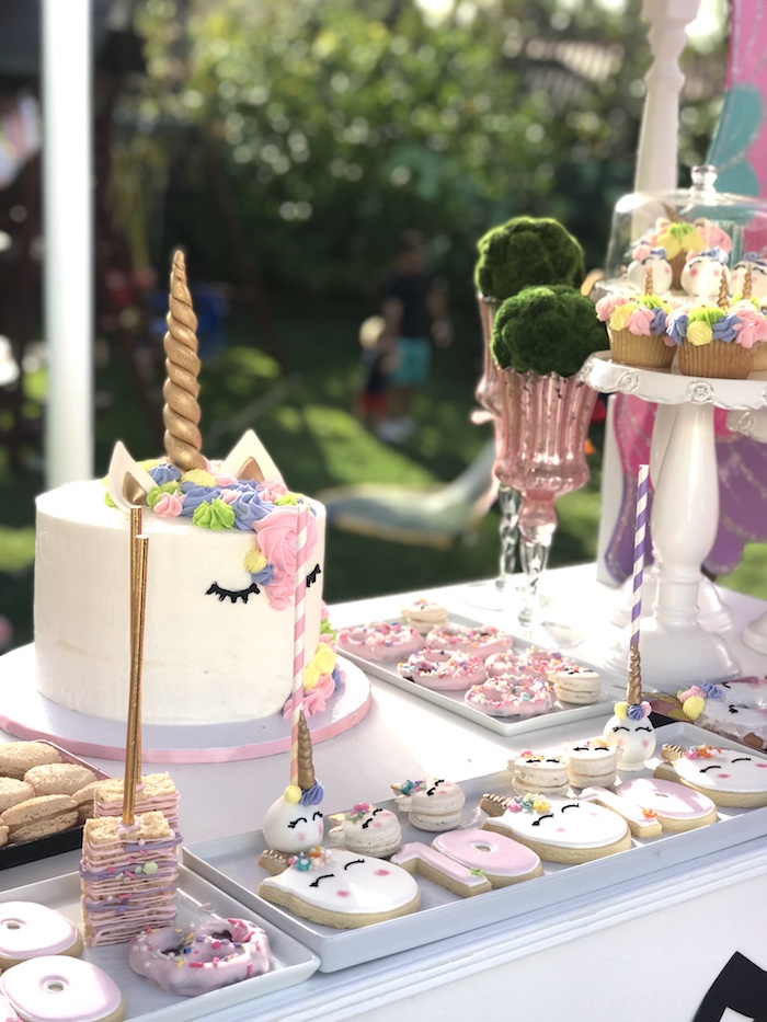 Unicorn Birthday Party on Kara's Party Ideas | KarasPartyIdeas.com (12)