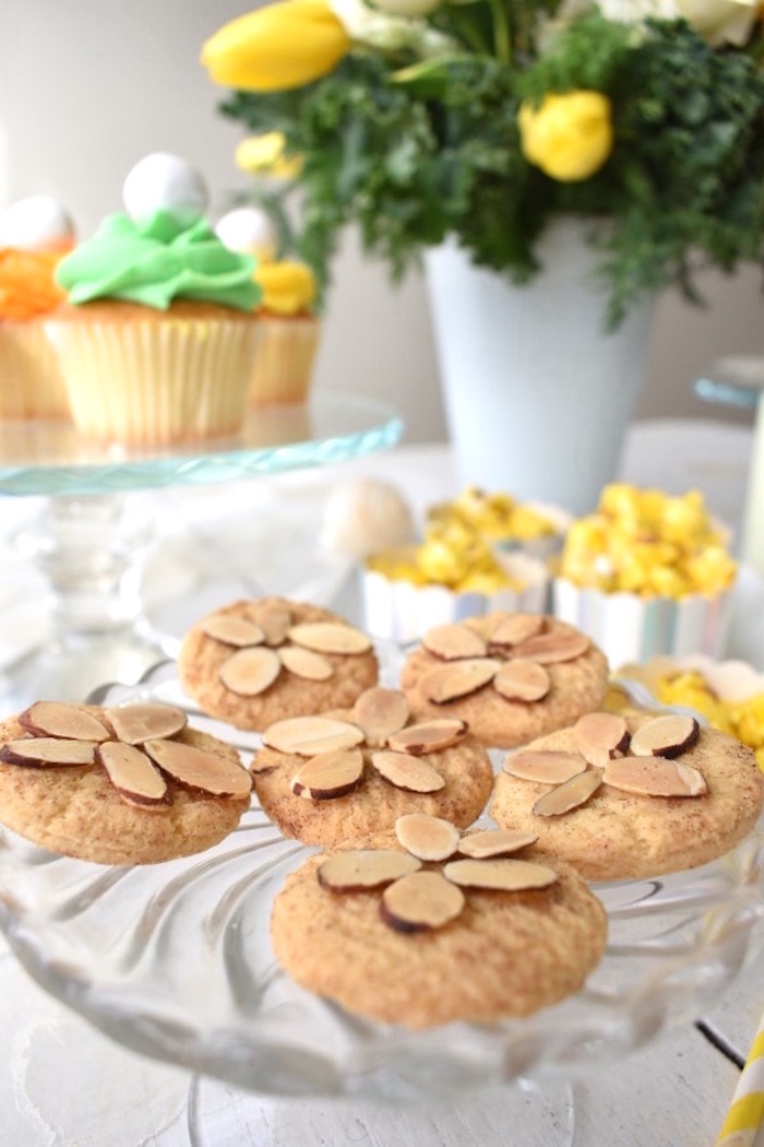 Sand dollar Cookies from a Whimsical Under the Sea Soiree on Kara's Party Ideas | KarasPartyIdeas.com (7)