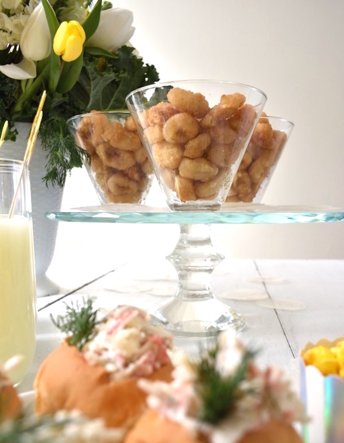 Calamari Cups from a Whimsical Under the Sea Soiree on Kara's Party Ideas | KarasPartyIdeas.com (13)
