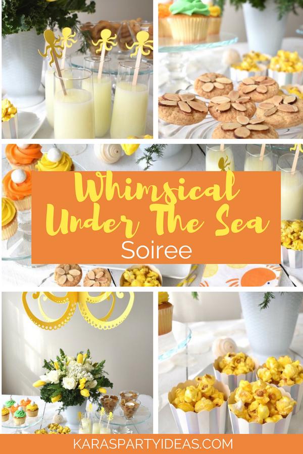 Whimsical Under the Sea Soiree via Kara's Party Ideas - KarasPartyIdeas.com