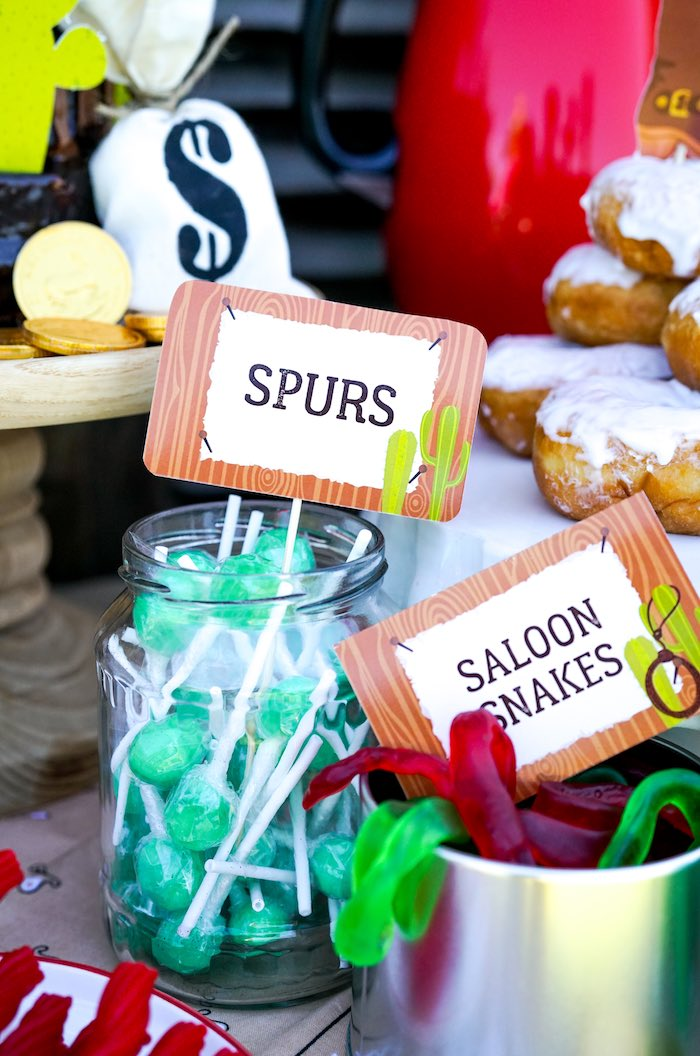 Western Themed Candy from a Wild West Cowboy Party on Kara's Party Ideas | KarasPartyIdeas.com (14)