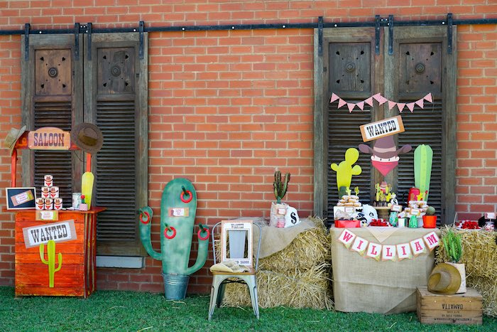 Wild West Cowboy Party on Kara's Party Ideas | KarasPartyIdeas.com (3)