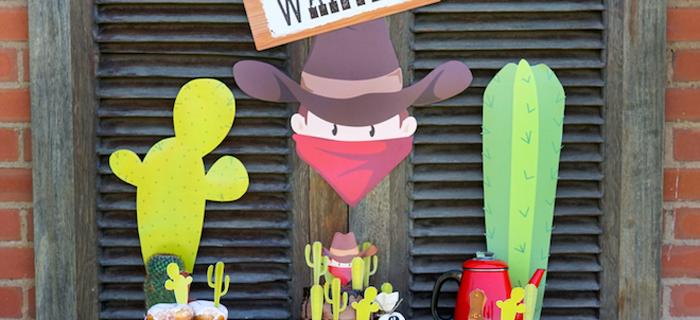 Wild West Cowboy Party on Kara's Party Ideas | KarasPartyIdeas.com (2)