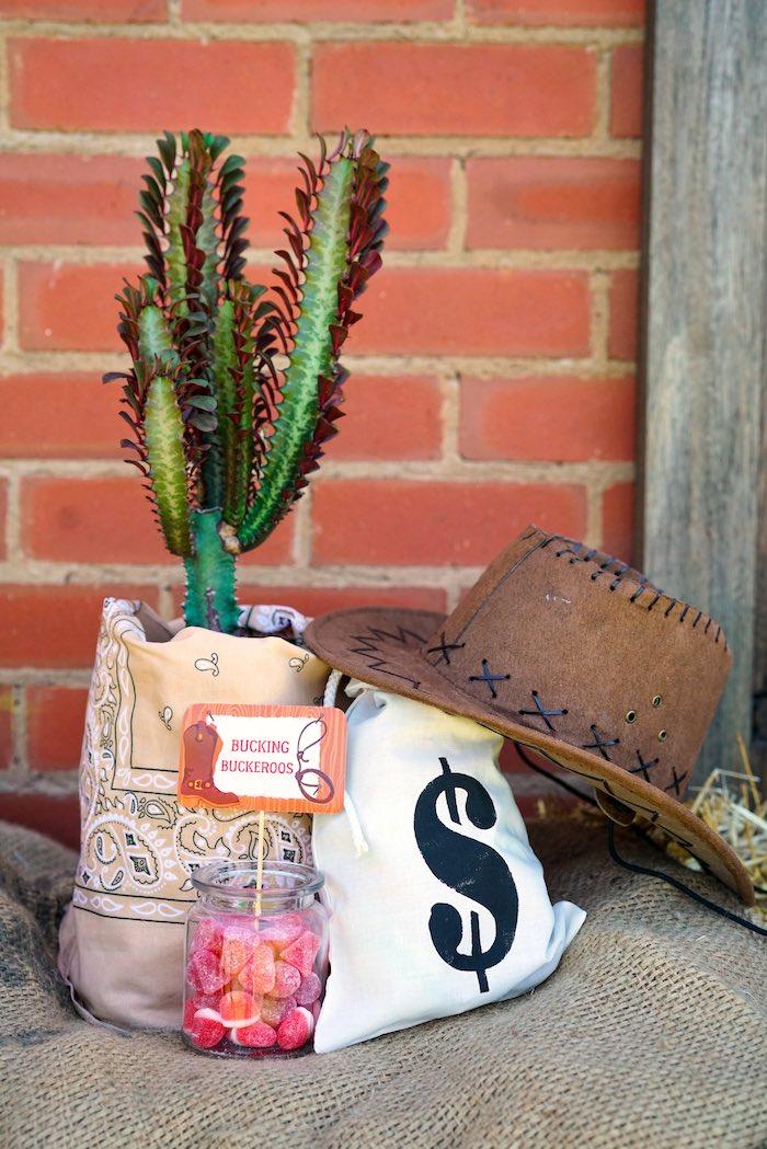 Western Decor from a Wild West Cowboy Party on Kara's Party Ideas | KarasPartyIdeas.com (19)