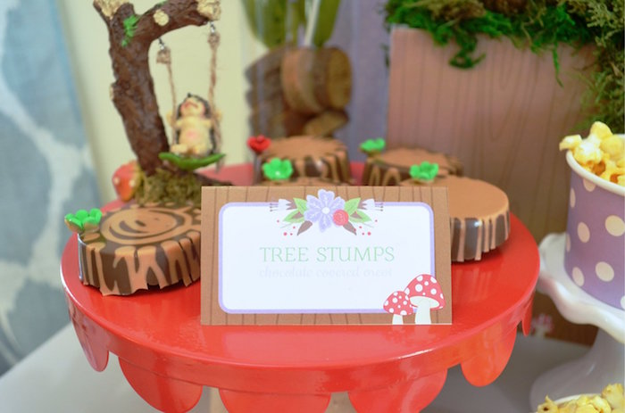Tree Stump Oreos from a Woodland Hedgehog Birthday Party on Kara's Party Ideas | KarasPartyIdeas.com (27)