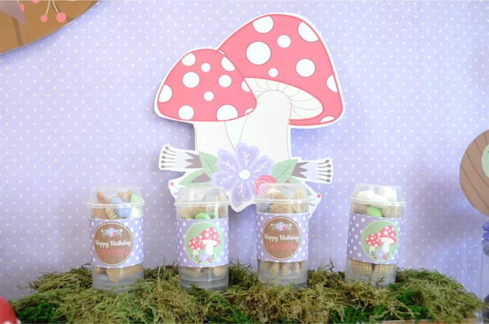Woodland Chex Mix Push Pops from a Woodland Hedgehog Birthday Party on Kara's Party Ideas | KarasPartyIdeas.com (26)