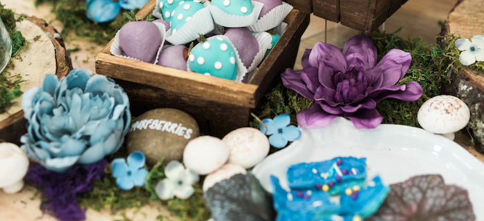 Woodland Smurf-Day Party on Kara's Party Ideas | KarasPartyIdeas.com (4)
