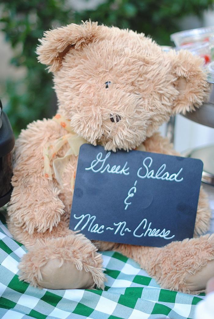 Kara S Party Ideas 187 Woodland Teddy Bear Camping Party