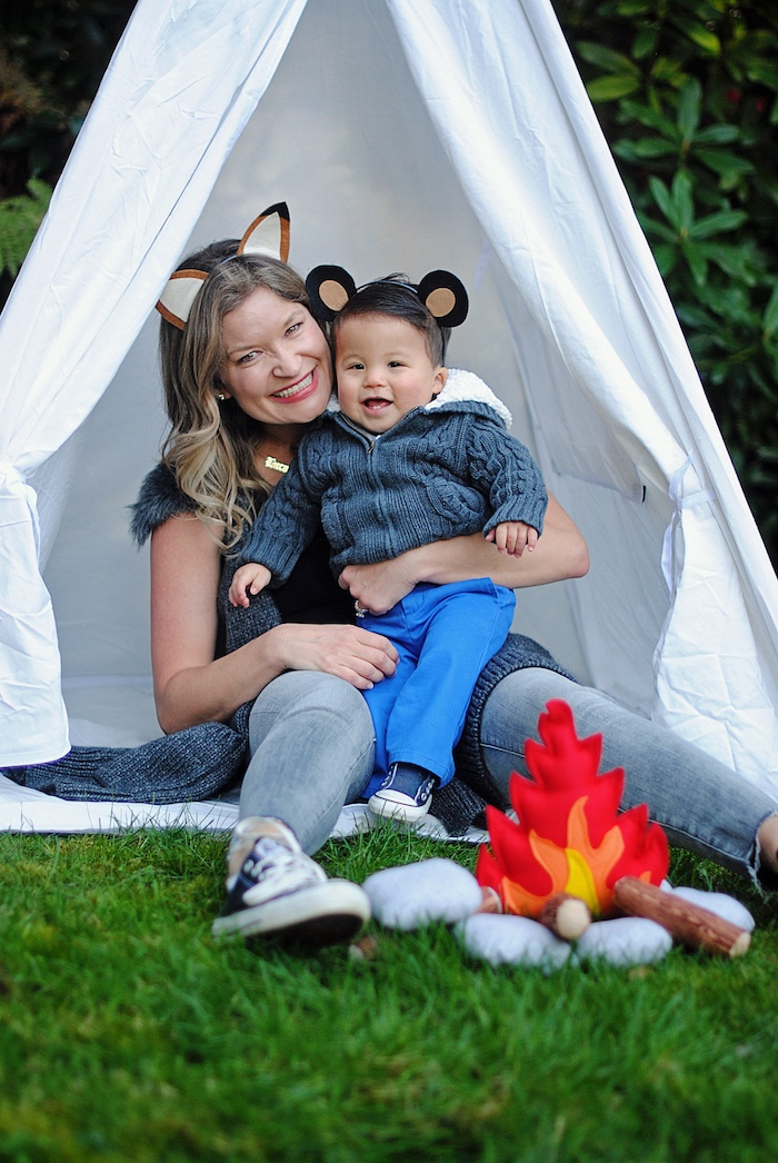 Woodland Teddy Bear Camping Party on Kara's Party Ideas | KarasPartyIdeas.com (3)