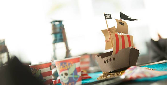 Pirates of the Caribbean Inspired Birthday Party on Kara's Party Ideas | KarasPartyIdeas.com