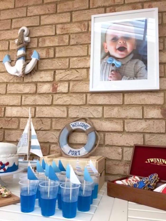 "Sailboat Jello Cups from ""Ahoy it's a Boy"" Nautical Party on Kara's Party Ideas | KarasPartyIdeas.com (9)"