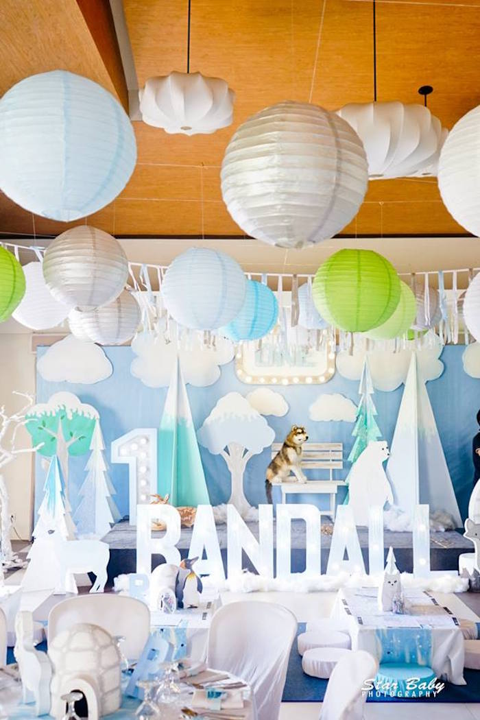 Arctic Animal Birthday Party on Kara's Party Ideas | KarasPartyIdeas.com (26)