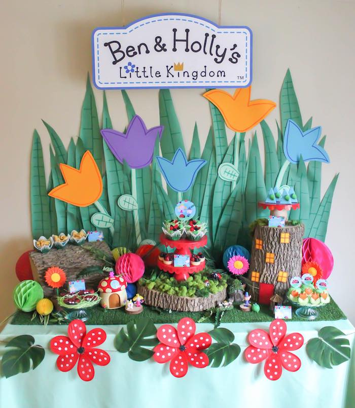 Karas Party Ideas Ben Hollys Little Kingdom Inspired Birthday