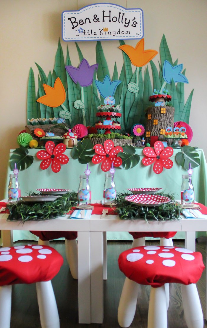 Miraculous Karas Party Ideas Ben Hollys Little Kingdom Inspired Caraccident5 Cool Chair Designs And Ideas Caraccident5Info