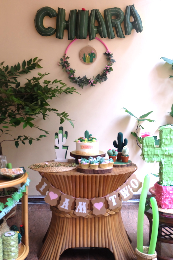 Cactus Garden Birthday Party on Kara's Party Ideas | KarasPartyIdeas.com (9)