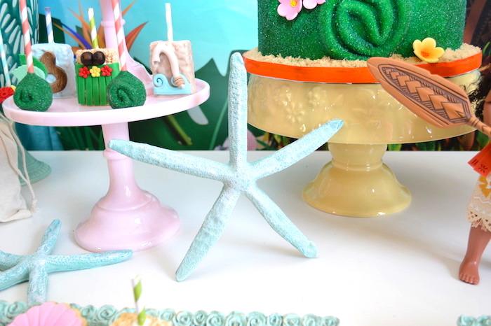 Starfish from a Chic Moana Birthday Party on Kara's Party Ideas | KarasPartyIdeas.com (4)