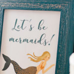 Coastal Mermaid Birthday Party on Kara's Party Ideas | KarasPartyIdeas.com (1)