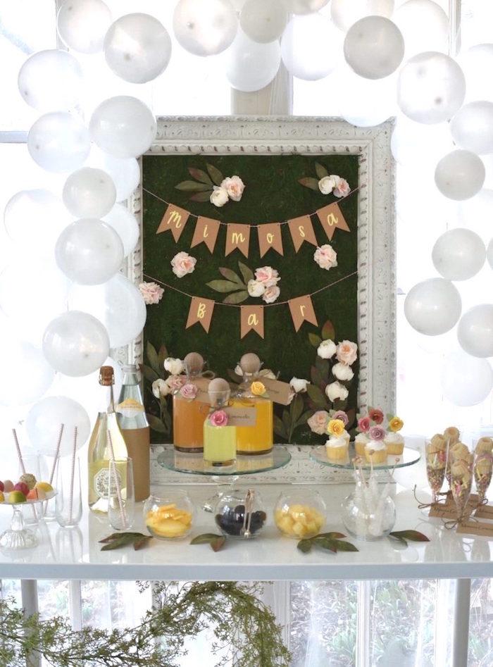 DIY Springtime Mimosa Bar on Kara's Party Ideas | KarasPartyIdeas.com (10)