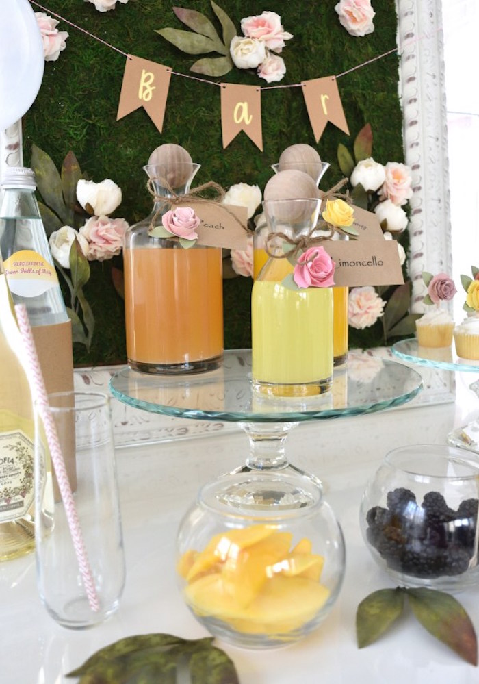 DIY Springtime Mimosa Bar on Kara's Party Ideas | KarasPartyIdeas.com (9)