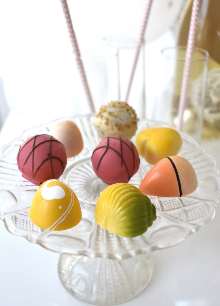 Desserts from a DIY Springtime Mimosa Bar on Kara's Party Ideas | KarasPartyIdeas.com (4)