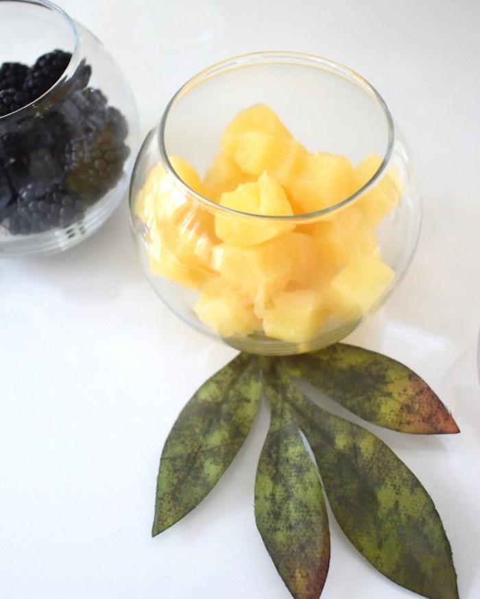 Fruit Bowls from a DIY Springtime Mimosa Bar on Kara's Party Ideas | KarasPartyIdeas.com (17)