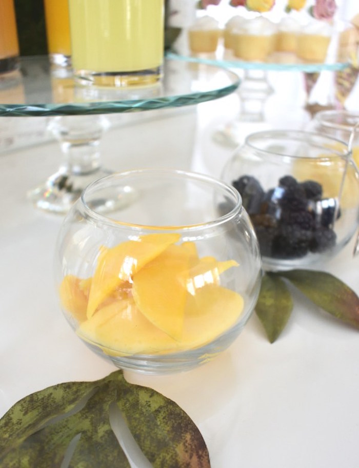 Fruit Bowls from a DIY Springtime Mimosa Bar on Kara's Party Ideas | KarasPartyIdeas.com (11)