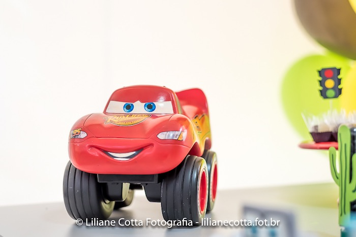 Lightning McQueen Car from a Disney's Cars Birthday Party on Kara's Party Ideas | KarasPartyIdeas.com (16)