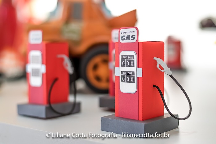 Gas Pump Favor Boxes from a Disney's Cars Birthday Party on Kara's Party Ideas | KarasPartyIdeas.com (14)