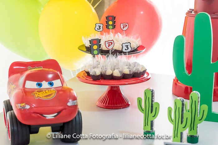 Cars Themed Decor from a Disney's Cars Birthday Party on Kara's Party Ideas | KarasPartyIdeas.com (23)