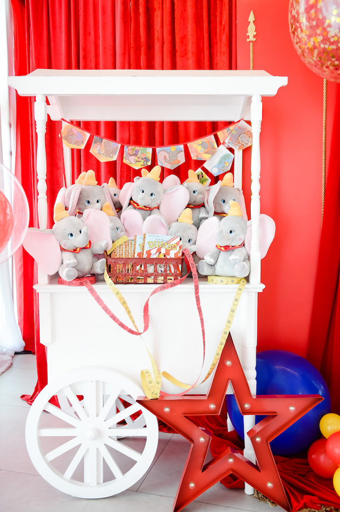 Dumbo's Circus Birthday Party on Kara's Party Ideas | KarasPartyIdeas.com (24)