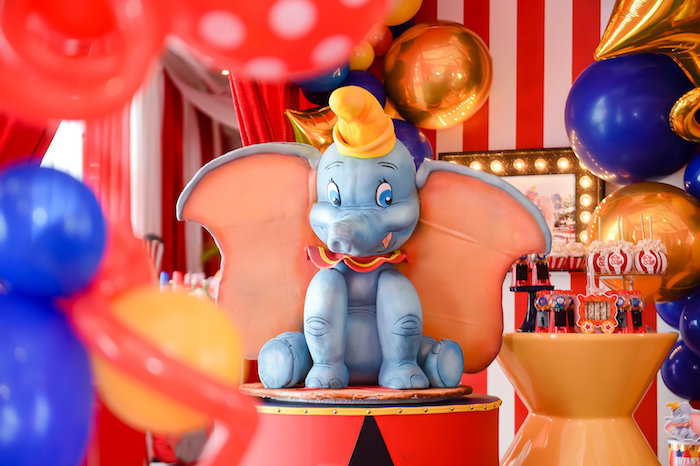 Dumbo's Circus Birthday Party on Kara's Party Ideas | KarasPartyIdeas.com (21)