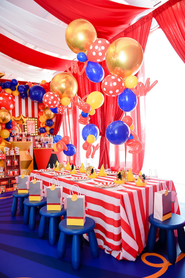 Dumbo's Circus Birthday Party on Kara's Party Ideas | KarasPartyIdeas.com (20)
